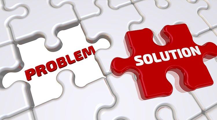 المشكلة ومراحل حلها