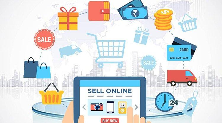 البيع على الانترنت